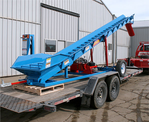 Schweiss Manure Conveyor is ready to ship