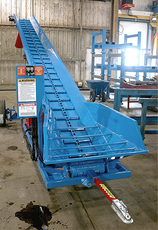 Conveyor Built in for performance